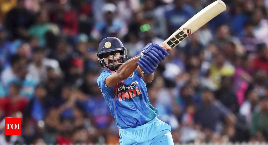 Promotion to number three was a big surprise: Vijay Shankar