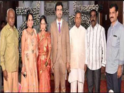 First wife disrupts second marriage of Congress leader's son
