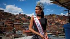 Miss Venezuela doesn't want to abandon her country