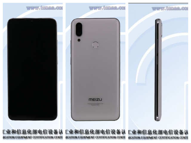 Meizu Note 9 photos and specifications listed on TENAA