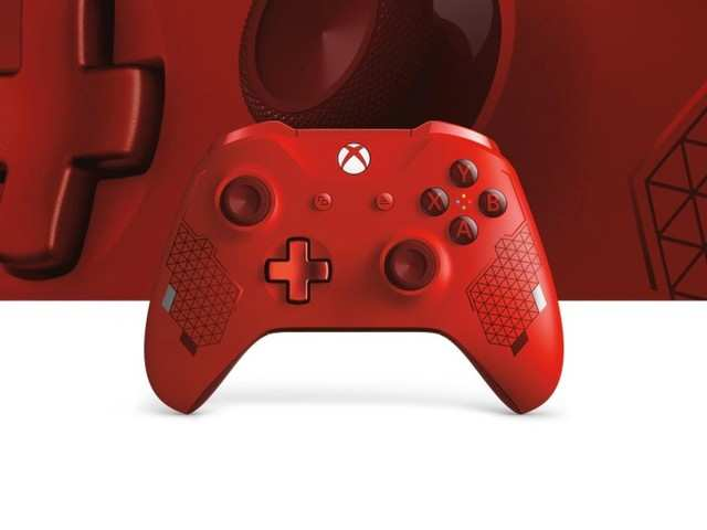 Microsoft reveals 'Sport Red' Xbox One controller