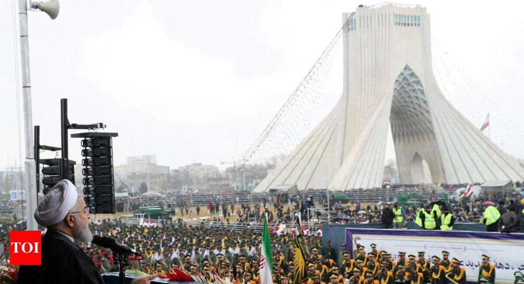 Mammoth crowds mark 40th anniversary of Iran revolution