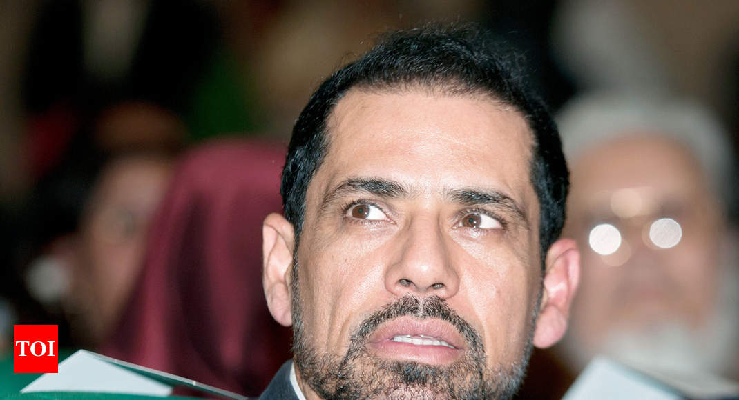 After London flat, Robert Vadra quizzed about Dubai villa - Times of India