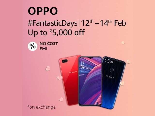 Discounts on Oppo R15 Pro, Oppo R17, Oppo F9 Pro and more during Oppo Fantastic Days Sale on Amazon