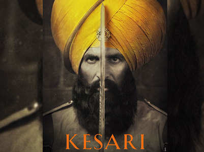 Kesari poster: Akshay is ready for the battle