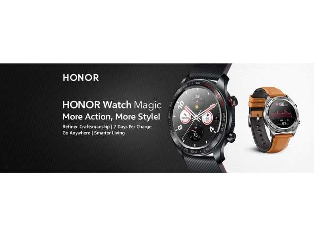 Honor Watch Magic and Honor Band 4 Running edition coming soon on Amazon