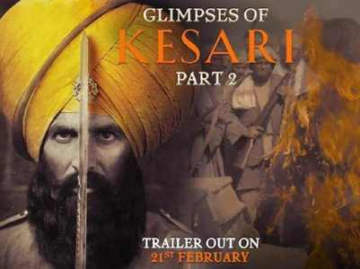 'Kesari' second teaser is spine chilling