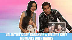 Valentine's Day Special: Karanvir Bohra, Teejay Sidhu along with baby girls relive their cutest memories