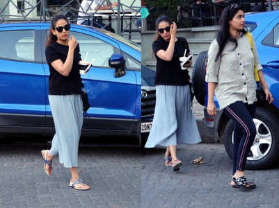 ​Mira Rajput steps out for a coffee date