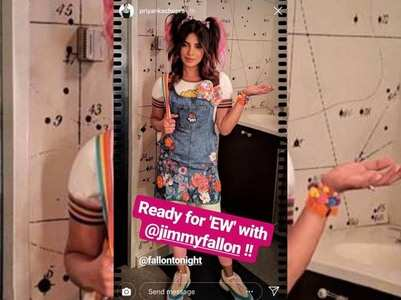 Photo: Priyanka dons a cute girl avatar