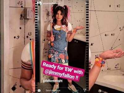 Photo: Priyanka dons a cute girl avatar