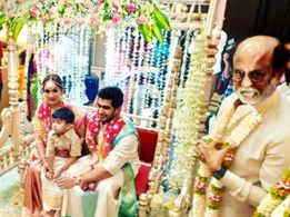 Flower power ruled Soundarya Rajnikanth's wedding decor!