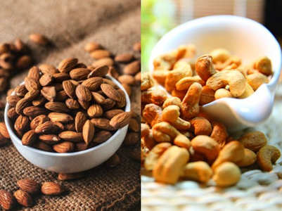 Weight loss: Almonds vs Cashews