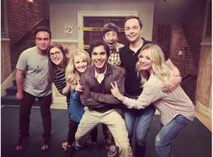 TBBT ends with a flash mob, see video