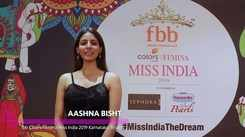 Aashna Bisht's introduction for Miss India 2019 Karnataka audition