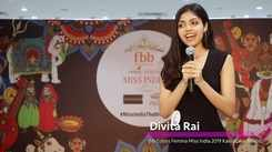 Divita Rai's introduction at Miss India 2019 Karnataka audition