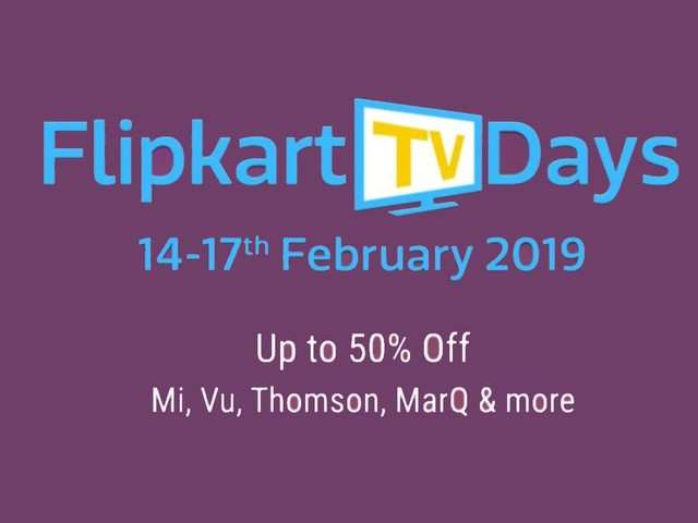 Flipkart TV Days: Smart TVs from Vu, MarQ, LG and Thomson starting at Rs 10,999