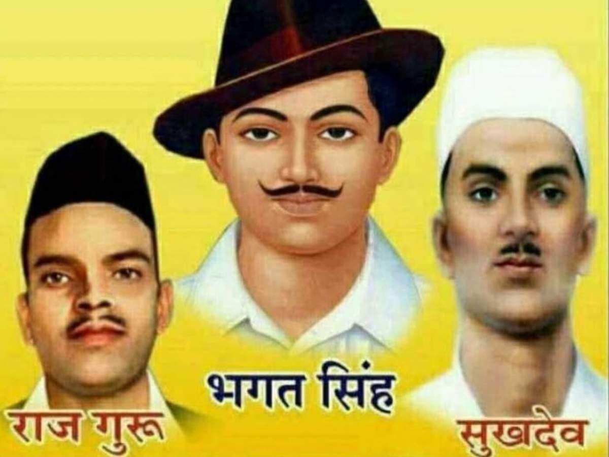 Bhagat Singh Sukhdev Rajguru Were Not Hanged On February 14 Times Of India