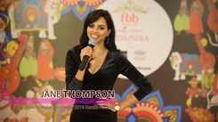 Jane Thompson's introduction at Miss India 2019 Kerala audition