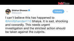 Shikar Dhawan reacts to assault on Delhi selector Amit Bhandari