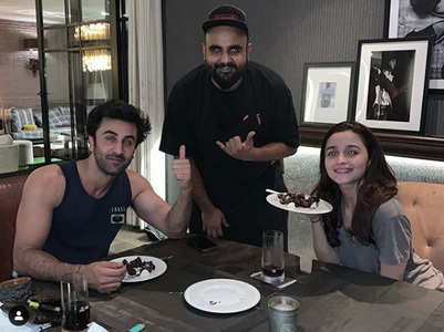 Ranbir-Alia enjoy a private dinner on V-Day