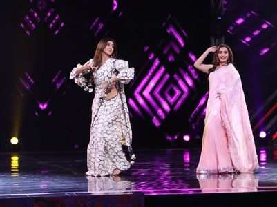 SuperDancer: Shilpa gets teary-eyed