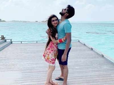 Lovey Sasan and her husband off to Maldives