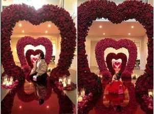 Kylie spends a dreamy Valentine's Day
