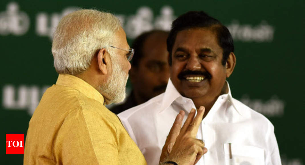 Tamil Nadu: BJP, AIADMK seal seat-sharing deal for Lok Sabha with 15-25 formula -