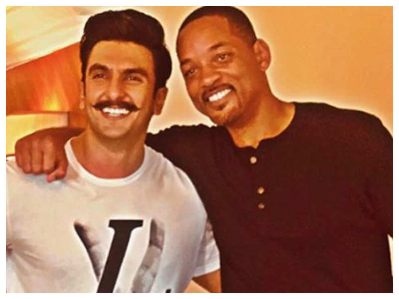 Hollywood star Will Smith is all praise for Ranveer Singh