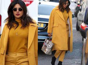 Priyanka flaunts her 'mangalsutra' in style