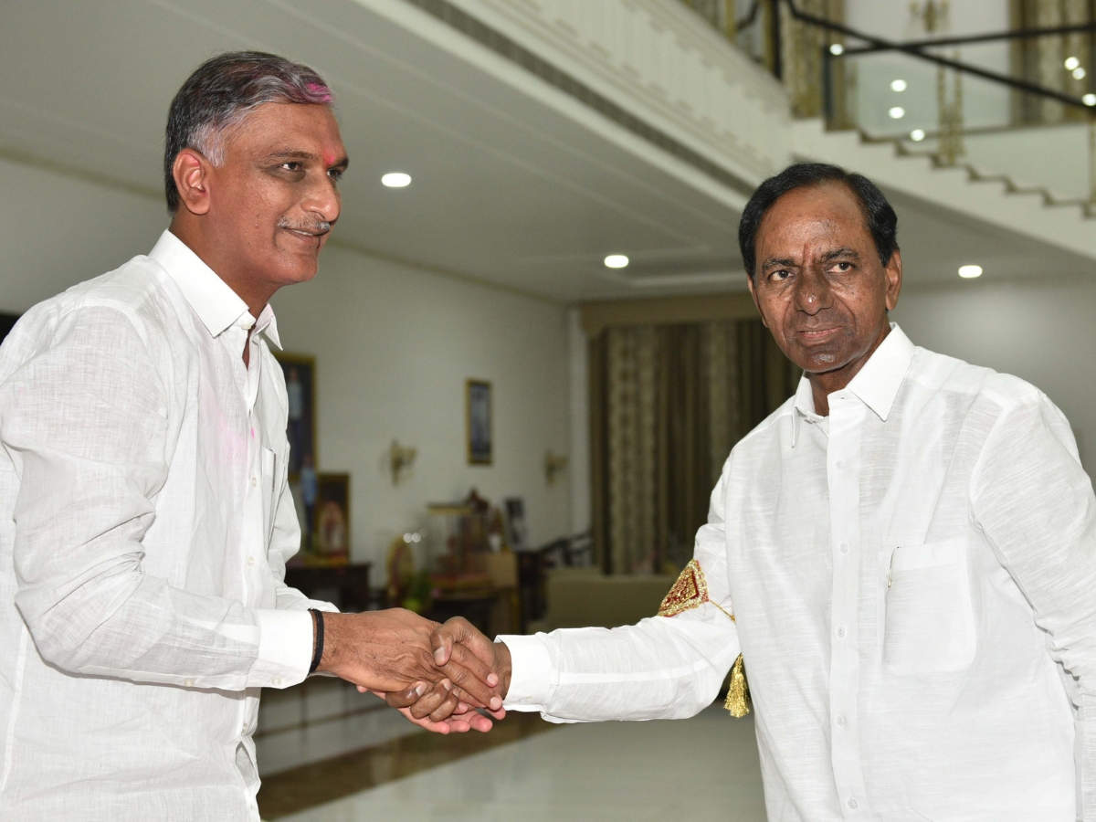 Harish Rao: Harish Rao could be back in KCR cabinet | Hyderabad News -  Times of India