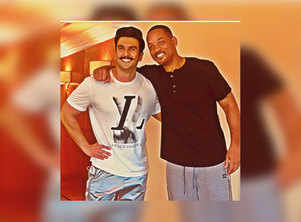 Ranveer responds to Will Smith's message