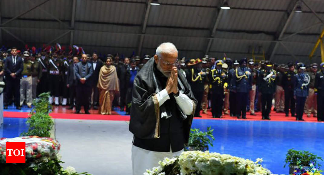 'Like you, fire raging in my heart too': PM Modi on Pulwama terror attack