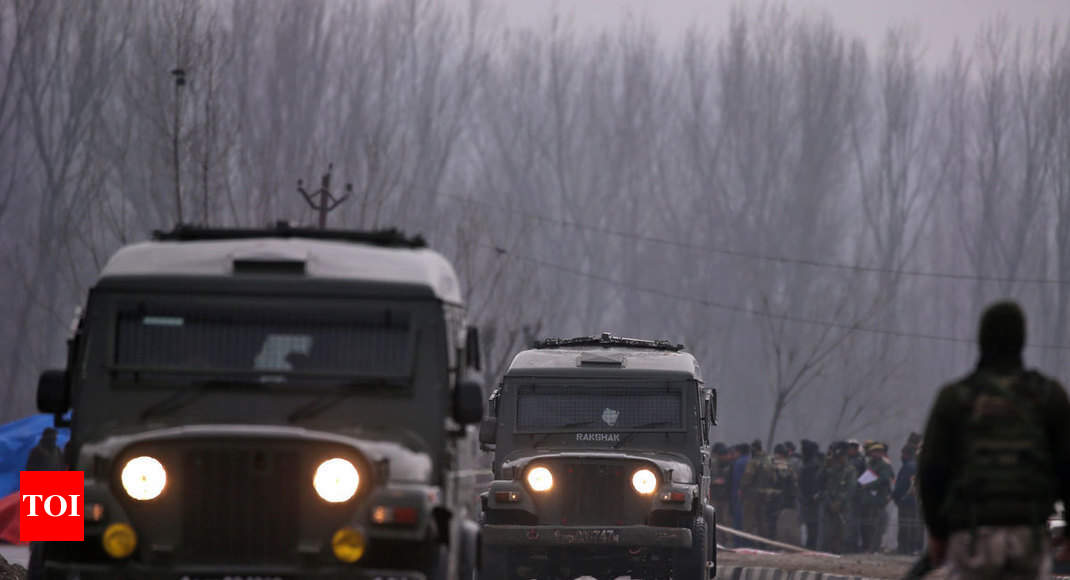 Didn't deny air transit facility for CRPF jawans, reports untrue: Govt - Times of India