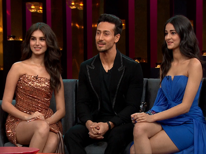KWK 6: Tiger Shroff on why he can't sleep alone