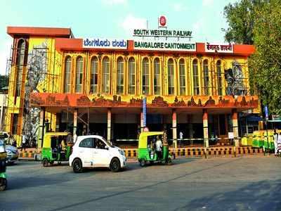 Avinash Sringeri Divakar: Cantonment Railway Station is