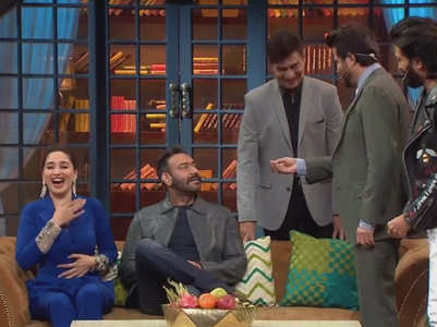 TKSS: Anil, Ajay fight to sit with Madhuri