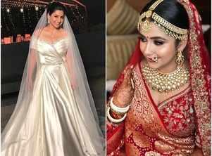 Actresses who looked stunning on wedding
