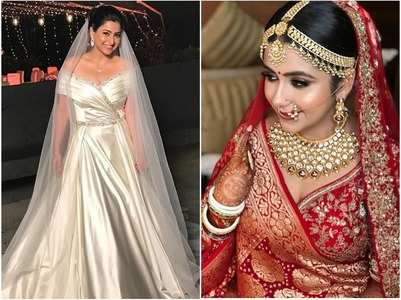 Actresses who looked stunning on wedding