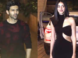 Ananya Panday and Kartik Aaryan celebrate Valentine's Day together
