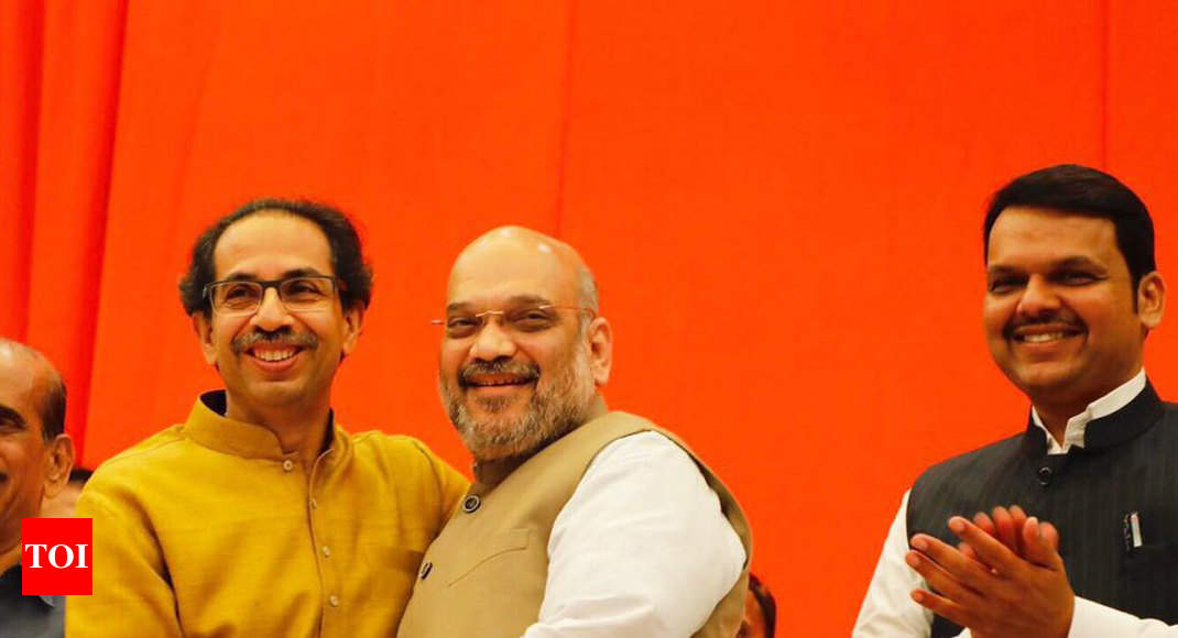 Maharashtra seat-sharing pact: BJP to contest on 25, Sena 23 seats in Lok Sabha election