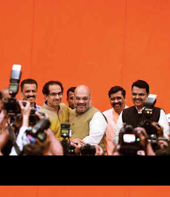 Sena - BJP poll pack in place