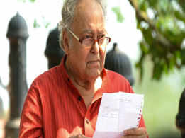 A biopic on Soumitra Chatterjee?