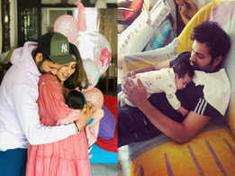 New father Rohit Sharma loves spending time with his baby girl