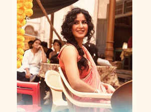'Bharat': Katrina shares a pic from the set
