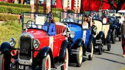 Jaipur goes on a vintage ride