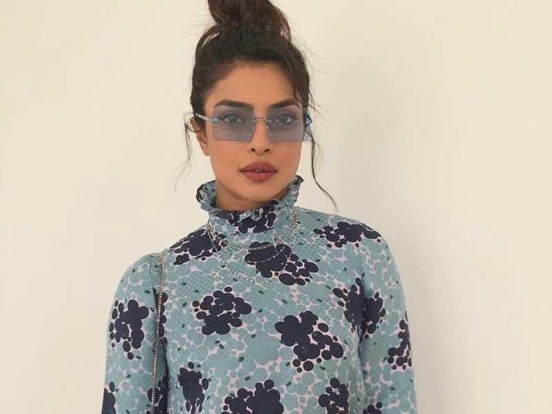 Priyanka Chopra Pays Last Respect To Iconic Fashion Designer Karl Lagerfeld On Twitter Hindi Movie News Times Of India