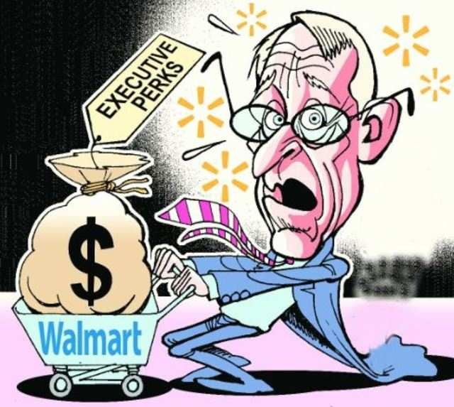 Walmart owners earn more in a minute than employees do in a year