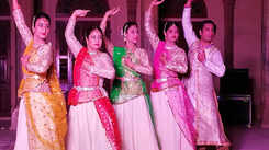 Amber Fort and Albert Hall reverberate with the beats of kathak